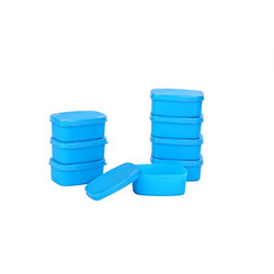 Signoraware Cute Container Set, 100ml, Set of 8, Turkish Blue