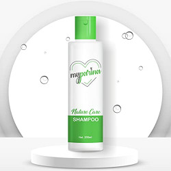 MYPARINA Argan Oil Therapy Shampoo with Amla and Bhringraj Extracts for Hair Fall and Dandruff Control, Nourishing Shampoo for Dry and Frizzy Hair, 200ml