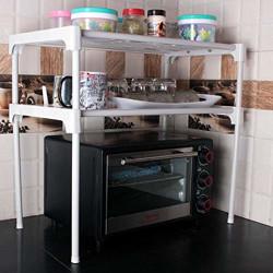 Ebee 2 Shelves Kitchen Cabinet - White