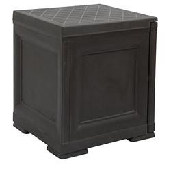 Cello Infiniti Mini 1 Plain Storage Cabinet, Brown