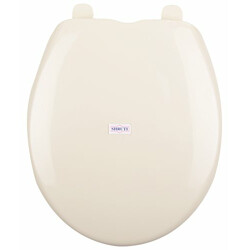 SHRUTI European Easy Move Wall Hung Toilet commode Seat Cover, Toilet Seat cover, - Ivory(2278)