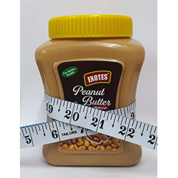 Exotes All Natural Peanut Butter (Honey Smooth), 1000 g