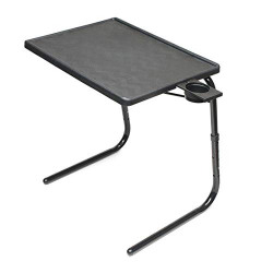Coirfit Smart Work from Home Foldable and Adjustable Multi Purpose Utility Table for Laptop, Dinner, Study- Black
