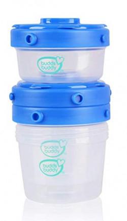 Buddsbuddy Premium Milk Powder Container 3pc (Blue)