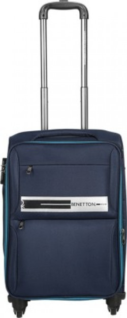 United Colors of Benetton Soft Luggage Cabin Luggage - 20 inch