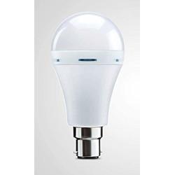 Electron Inverter b22 Bulb 9watt High-Bright SMD Powerful Rechargeable Emergency LED Bulb Light