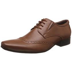 BATA Men's Howard Brown Formal Shoes - 9 UK/India (43 EU)(8213922)