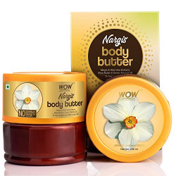 WOW Skin Science Nargis Body All Butter - No Parabens, Silicones, Mineral Oil & Color, 200 ml