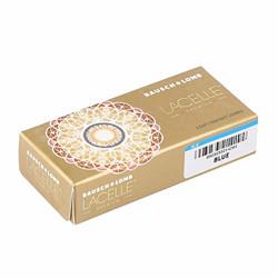 Bausch & Lomb Lacelle Premium Monthly Disposable Contact Lens (-4.00, Blue, 2 Lenses)