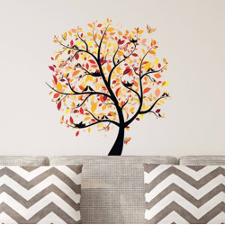 ASIAN PAINTS Extra Large Wall Sticker(Pack of 1)