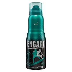 Engage Sport Cool Deodorant For Men, Citrus and Aqua, Skin Friendly, 165ml