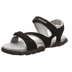 POWER Men Fortress Grey Beach Thong Sandals-8 UK (8612199)