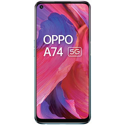 OPPO A74 5G (Fluid Black,6GB RAM,128GB Storage) - 5G Android Smartphone | 5000 mAh Battery | 18W Fast Charge | 90Hz LCD Display