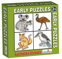 Creative Educational Aids 0759 Early Puzzles - Australian Animals