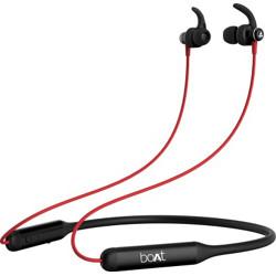 boAt Rockerz 335 Bluetooth Headset(Raging Red, In the Ear)