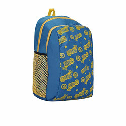 Impulse Knight Rider Yellow 30 Ltr Waterproof School, Collage, Travel, Luggage Bag, Laptop Backpack For Boy & Girl