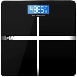 Fit Go Digital Weighing Scale(Black)