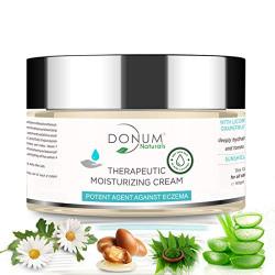 Donum Naturals Chemical Free Moisturizing Face Dry Skin Winter Cream for Eczema -60gm
