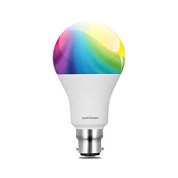 Riversong Juno 10W Smart Bulb - Compatible with Amazon Alexa and Google Home Assistant (Multicolor)