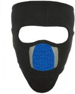 LA OTTER Black, Blue Bike Face Mask for Men & Women(Size: Free,  Balaclava)