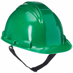 HoneywellPremium A59I Safety Helmet for Industrial/Outdoor Application (Green, Pack of 5)