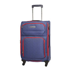 Tommy Hilfiger Polyester 67 cms Navy Softsided Cabin Luggage (TH/FCB08065)