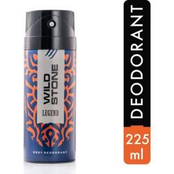 Wild Stone Legend Deodorant Spray  -  For Men(225 ml)