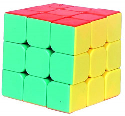 A & Y Cube Puzzle , Multicolour