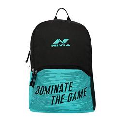 Nivia Cloud School Bag-Aqua