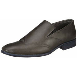Amazon Brand - Symbol Men's Grey Synthetic Formal Shoes - 8 UK (AZ-KY-292B)