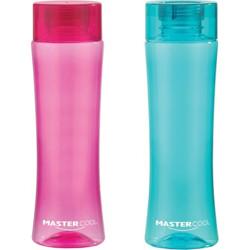 Mastercool Curve 900 ml Bottle(Pack of 2, Blue, Pink, PET)
