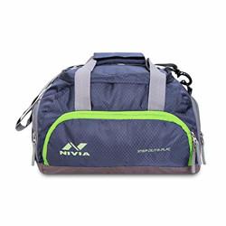 Nivia Carrier-3 Duffle Bag (Grey)
