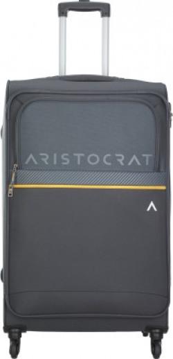 ARISTOCRAT BREZZA 4W STROLLY (E) 79 GREY Check-in Luggage - 28 inch