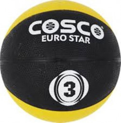 COSCO euro star size 3 Basketball - Size: 3(Pack of 1, Multicolor)