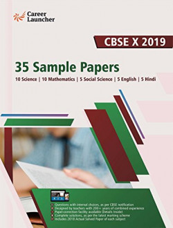 CBSE Class X 2019 - 35 Sample Papers