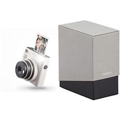 Fujifilm Instax Square SQ1 Camera - Chalk White with Film Box