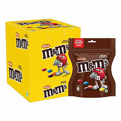 M&M's Milk Chocolate Candies Gift Pack- 75g (Pack of 6)