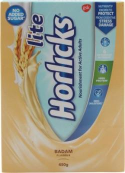 Lite Horlicks Badam Flavour(450 g)