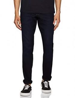 Wrangler Men's Slim Fit Jeans (W38716W22SMU_Jsw-Indigo_36W x 33L)
