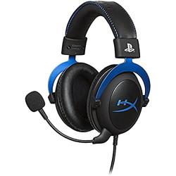 HyperX Cloud HX-HSCLS-BL/EM Gaming Headset for Playstation 4 (Black and Blue)