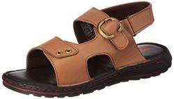 Amazon Brand - Symbol Ankle Strap AZ-KY-404 TAN 9