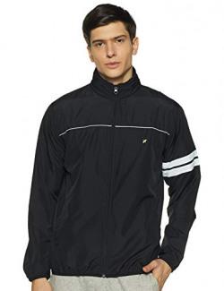 Amazon Brand - House & Shields Men's Lightweight Regular Jacket (AW20-LW-HS-06_Black_M)