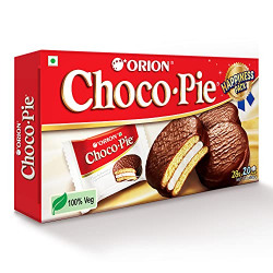 ORION Choco Pie - Chocolate Coated Biscuit, Festive Gift Pack, 560 g, 20 Count