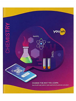 Navneet Youva | Hard Bound | Chemistry Practical Book | 21.5x26.5 cm | 1 Side Ruled & 1 Side Plain | 176 Pages