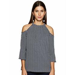Styleville.in Women's Floral Regular Shirt (STSF402239_Black XL)