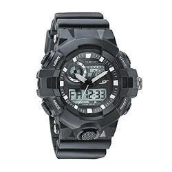 SF Hustler Analog-Digital Grey Dial Men's Watch-77117PP03W