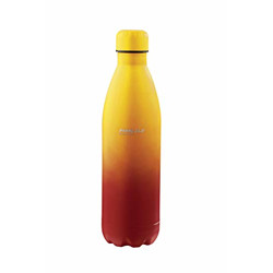 Pinnacle Vacuum Flask (SS304) with Flip Lid; Stainless Steel Thermos, Leak Proof, 24 Hours Hot/Cold Insulation (Paradise Citrus, 1000 ml)