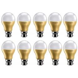 CROMPTON 9 W Round B22 LED Bulb(White, Pack of 10)