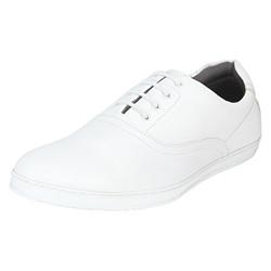 Bond Street by (Red Tape) Men's White Sneakers - 8 UK (42 EU) (BSS0655D)