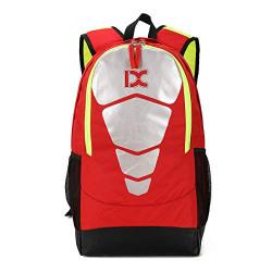 Tinytot School Bag or School Backpack College Backpack for Boys & Girls (Red) 31 L